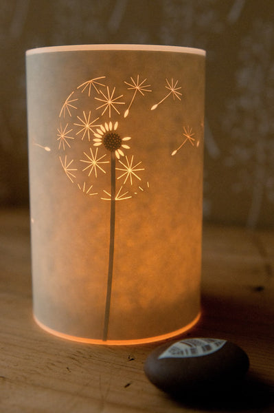 Dandelion Clock Candle Cover by Hannah Nunn from Radiance