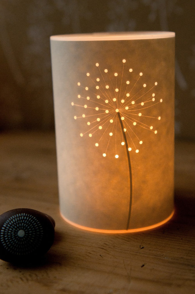 Seed Head Candle Cover
