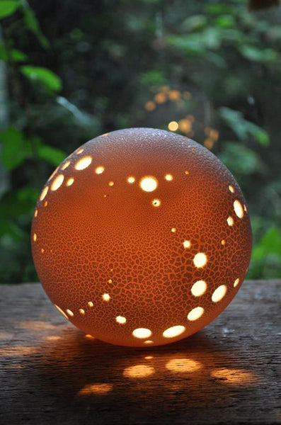 'Holey Planet' Lamp