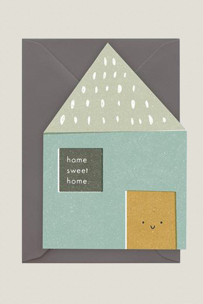 Home Sweet Home - Greetings Card