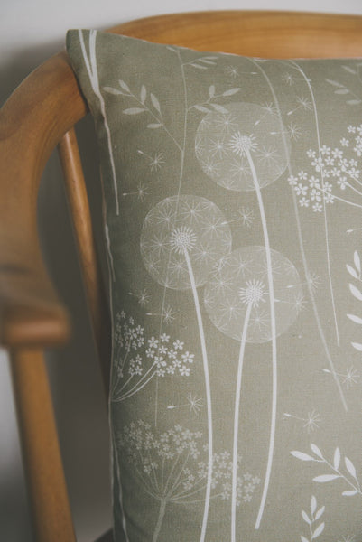 Paper Meadow Cushion in Kraft