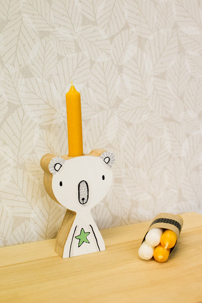 Polar Bear Candle Holders