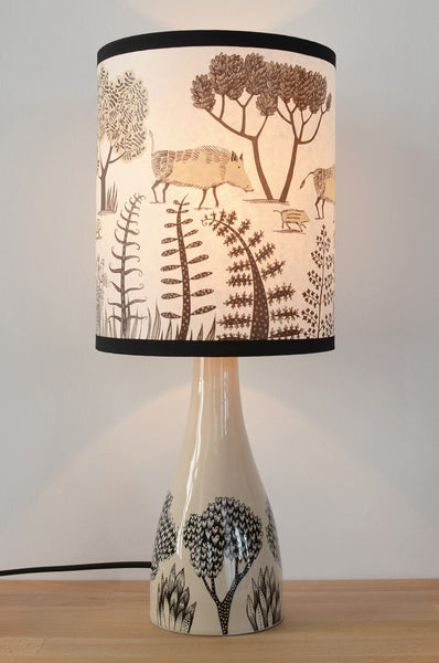 Cream Ceramic Lamp Base