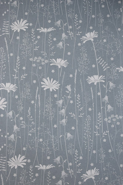 Daisy Meadow Wallpaper in Moonrise