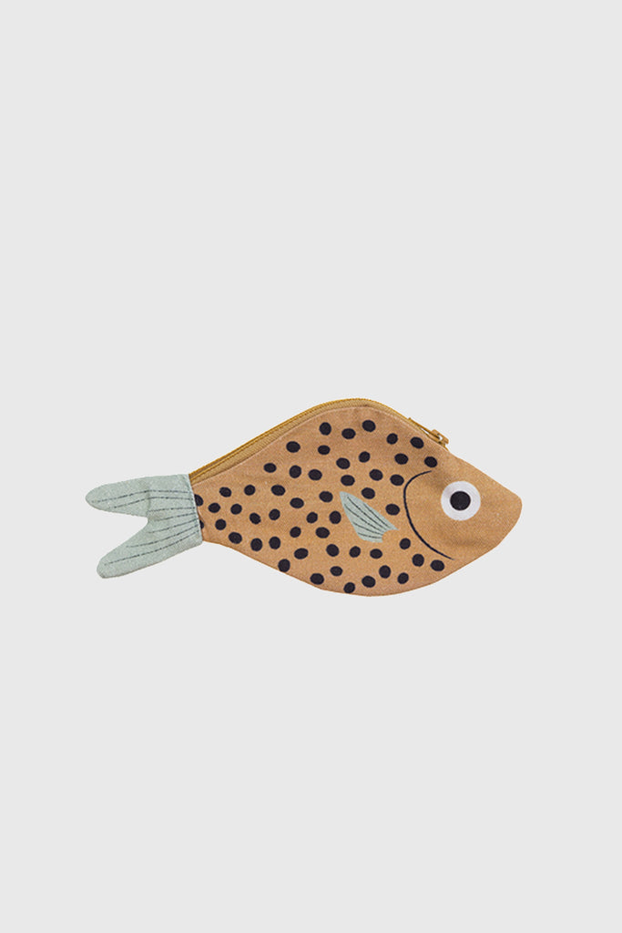 'Mustard Bream' Fish Purse