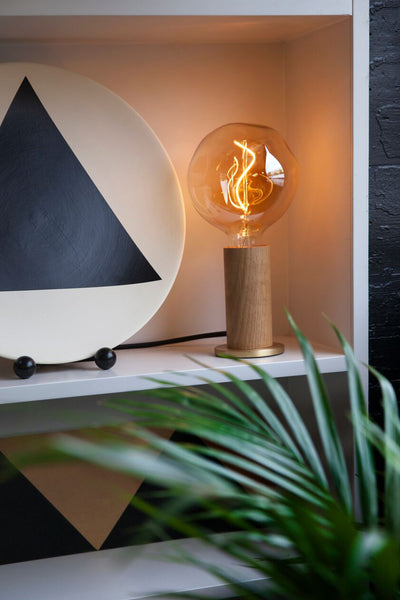 Tala Oak 'Touch' Lamp