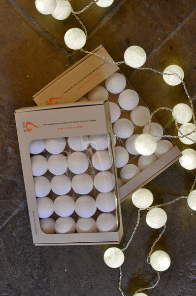 Snowy White Ambient Ball Lights