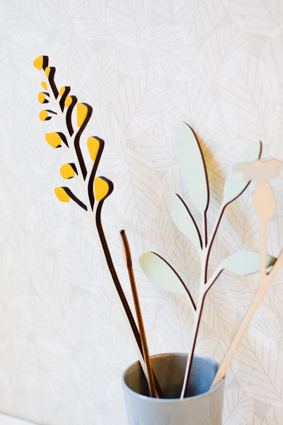 Handmade Wooden Flowers by Anna Wiscombe from Radiance