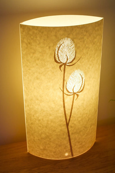 Oval Teasel Table Lamp
