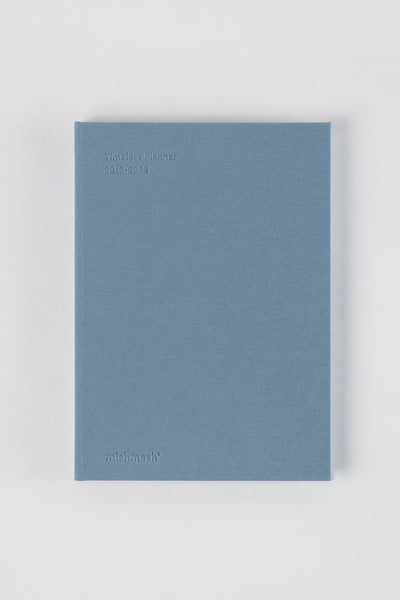 Timeless Planner in Dusky Blue