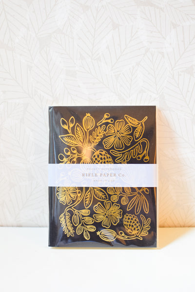 Set of 2 Gold Foiled Pocket Notebooks