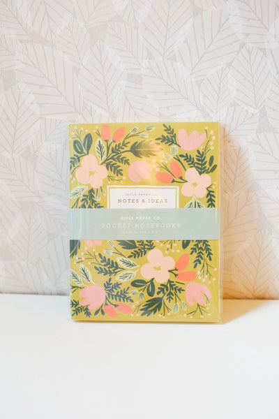 Set of 2 'Moss Garden' Pocket Notebooks