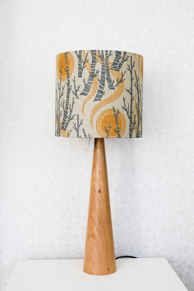 Birch Tree Sun Lampshade