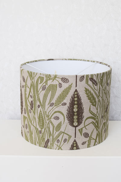 Meadow's Edge Lampshade (Green / Charcoal)