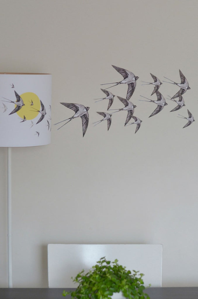 Swallow Wall Stickers