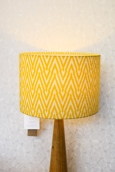 Thunderbolt Fabric Shade in Daffodil