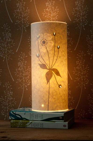 Small Japanese Anemone Table Lamp