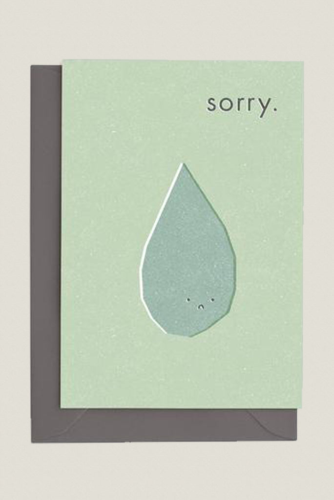 Sorry - Greetings Card