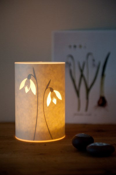 Snowdrop Candle Cover