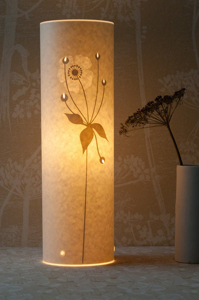 Tall Japanese Anemone Table Lamp