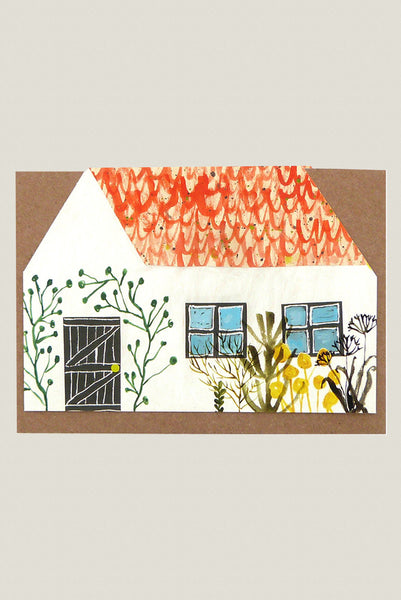 Little House - Greetings Card