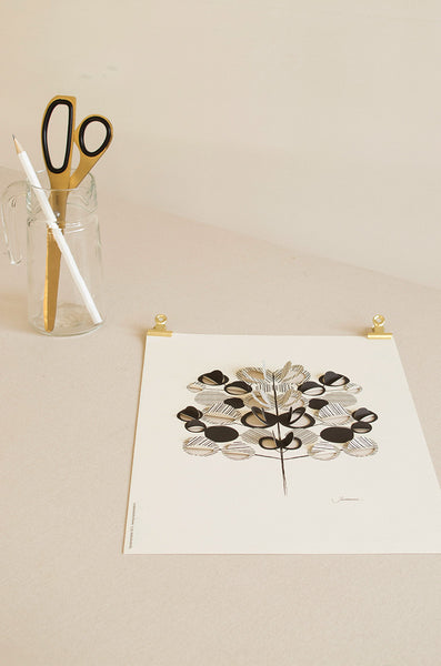 A4 Pop-Up Tree Poster
