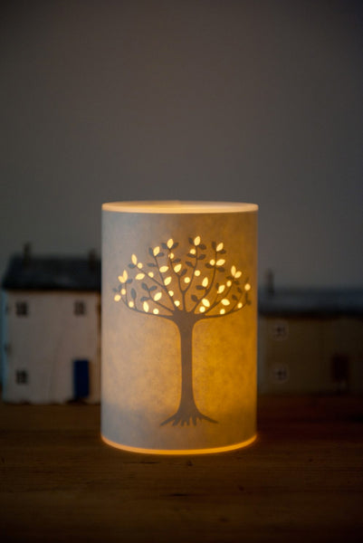 Tree of Life Candle Cover