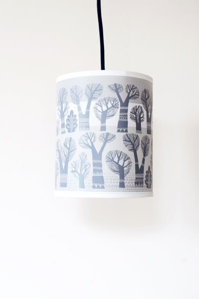Winter Trees Lampshade