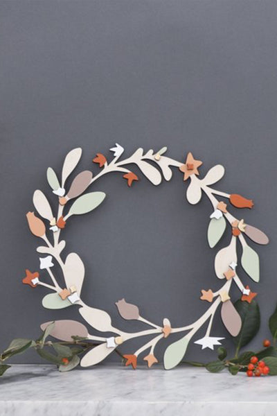 Wooden Wreath
