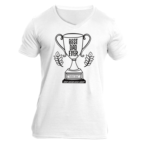 Best Dad Ever (personalized) - v-neck