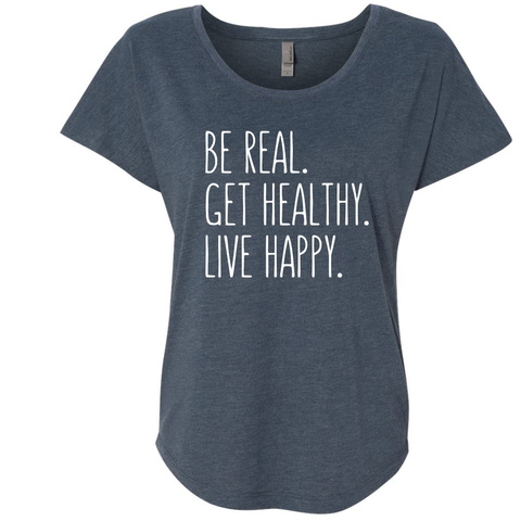 Be Real. Get Healthy. Be Happy