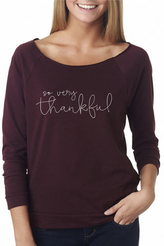 womens thanksgiving pullover sweatshirt