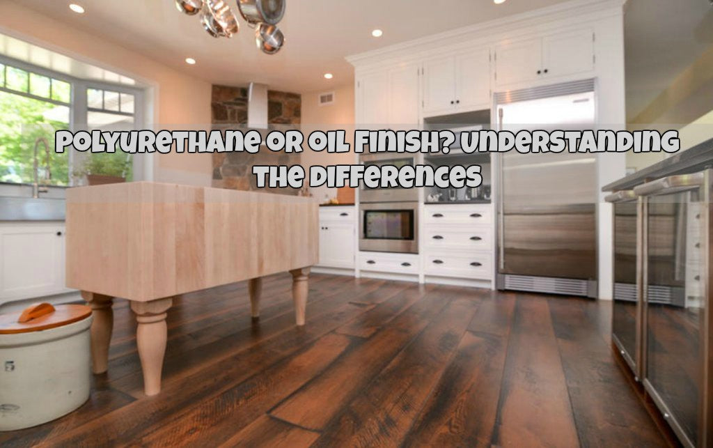 Polyurethane or Oil Finished Hardwood Flooring