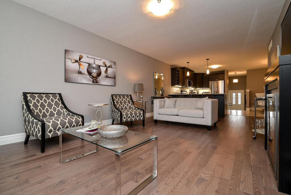 Grey Hardwood Flooring