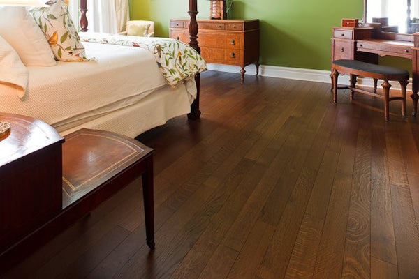 Quatersawn Medium Brown White Oak Hardwood Flooring