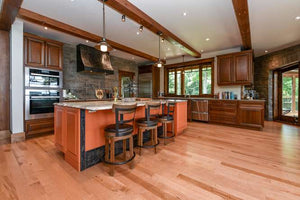 Maple Natural with Colours Hardwood Flooring