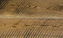 Wide Plank White Oak Hardwood Flooring Natural 1850 Circular Sawn