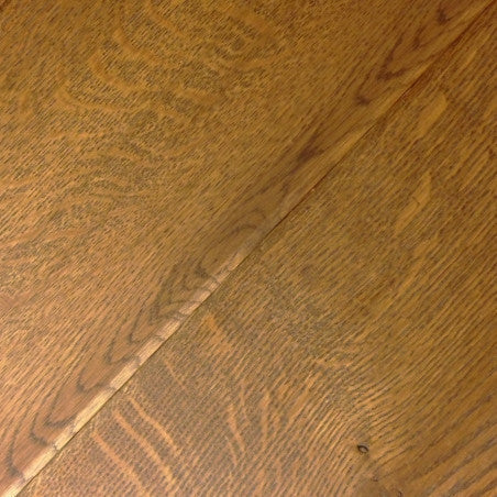 Wide Plank White Oak Hardwood Flooring Russet Distressed -  - 1