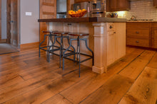 Wide Plank White Oak Hardwood Flooring Natural 1850 Distressed -  - 14