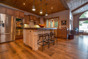 Wide Plank White Oak Hardwood Flooring Natural 1850 Distressed -  - 30