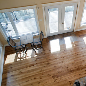 Wide Plank White Oak Hardwood Flooring Natural Distressed -  - 4
