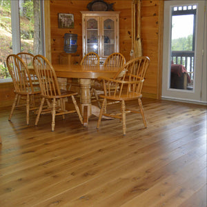 Wide Plank White Oak Hardwood Flooring Natural Distressed -  - 5