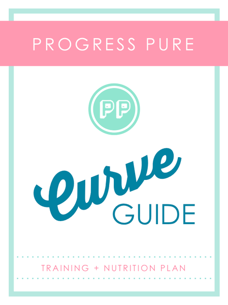 Progress Pure's Curve Guide and nutrition guide