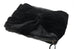 Black Furry Velvety Black Bow Pouch