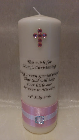 Christening Candle - No.3