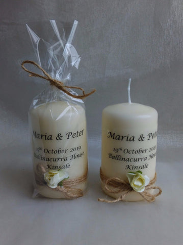 Wedding Favour - Rustic Rose, Ivory