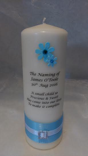 Naming Day Candle - No.2