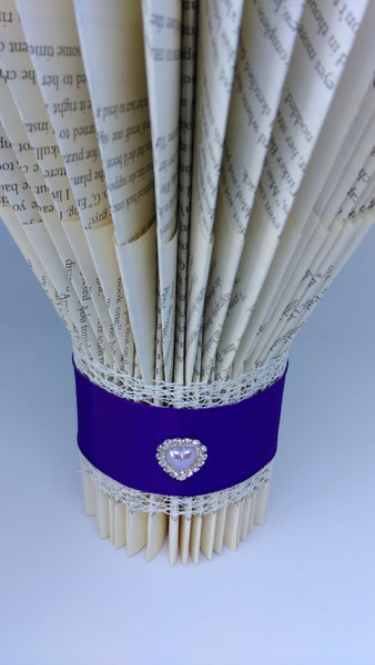book art, book folding, wedding centrepiece, vase, wedding ceremony, personalised,