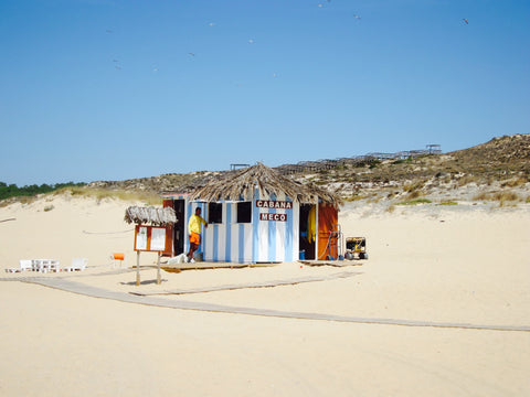Empty dunes of Praia do Meco