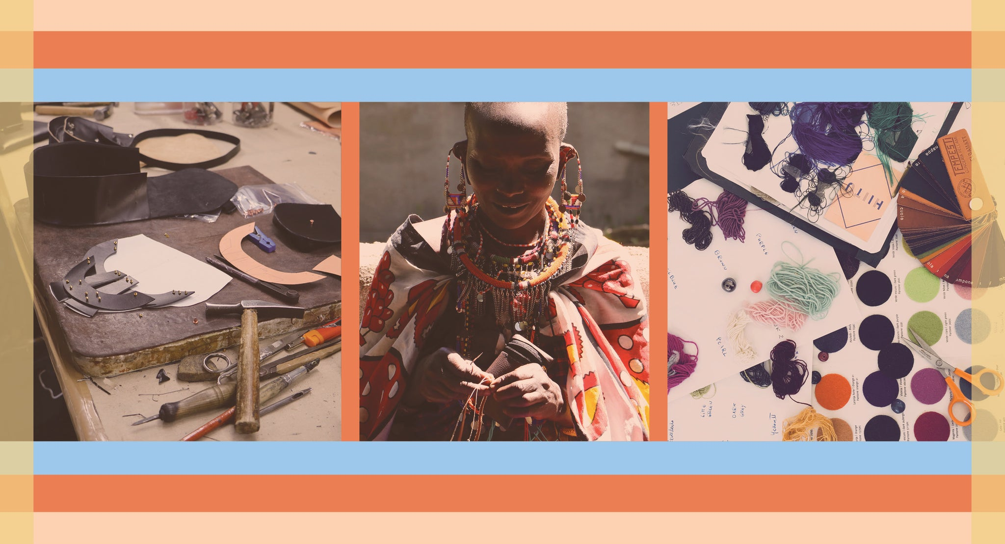 The HIITU all things handmade onlineshop, with shoulder bags, pearl earrings, fancy rings, african art and other indie style accessories for an elegant hippie look.